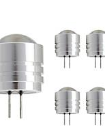 1W Двухштырьковые LED лампы T 1 Высокомощный LED 90 lm Тёплый белый Холодный белый DC 12 V 1 шт. G4