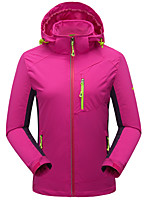 Women's Hiking Jacket Keep Warm Breathable Wearproof Jacket for Running/Jogging Camping / Hiking Climbing Winter Fall/Autumn L XL XXL