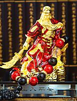 DIY Automotive Ornaments Interior decoration Ping An Guan Gong Guan Yu Huishen Gold Guan Gong Fortune Beads Car Pendant & Ornaments