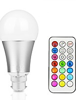 12W LED Smart Bulbs A60(A19) 15 Integrate LED 700 lm RGBWarm RGBWhite Remote-Controlled Decorative Dimmable AC 85-265 V 1 pc