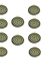 3W Spot LED 48 SMD 2835 500 lm Blanc Chaud Blanc Froid Décorative AC 12 V 10 pièces GU10