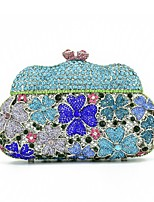 Women Evening Bag Special Material Spring/Fall All Seasons Wedding Event/Party Casual Formal Outdoor Office & Career Basket Sparkling