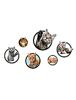 Wall Stickers Wall Decas Style Lovely Funny Cat PVC Wall Stickers
