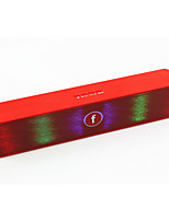 LED Bluetooth Speakers Retro Portable Wireless Speaker with Colorful Llights