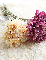 1 Branch Plastic Daisies Tabletop Flower Artificial Flowers Home Decoration Wedding Supplies Fulang Flowers of Gerbera