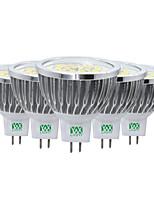 5PCS YWXLight® 7W GU5.3(MR16) 48LED 2835SMD 600-700Lm Warm White Cool White Natural White Decorative LED Spotlight AC/DC 12V