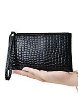 Fashion Long Crocodile Pattern Female Hand Bag Wallet