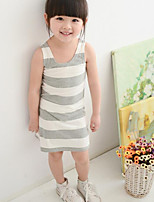 Girl's Striped Dress