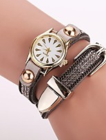 XU Women's Luxurious Elegant Personality Diamond Peacock Quartz Bracelet Watch