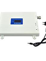 Мобильный телефон 2g 3g усилитель сигнала gsm w-cdma umts сигнал повторителя 2100mhz 900mhz усилитель с источником питания lcd дисплей /