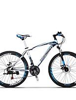 Bicicleta de Montaña Ciclismo 21 Velocidad 27,5 pulgadas SHIMANO TX30 Disco de Freno Horquilla de suspención Cuadro de Acero CarbónA