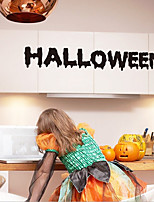 Halloween Wall Stickers English Blessing Wall Post Trade Carved TV Background Decoration