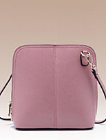 Women Bags All Seasons Cowhide Shoulder Bag with for Casual Outdoor Blushing Pink
