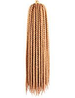 22 120g 12Strands per Pack Synthetic Crochet Craiding Hair Mambo Twist Havana Braids Extensions