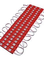 hkv® 3m 13w smd 5630smd 60led светодиодные модули ip65 красный водонепроницаемый свет лампы 5630 качественный рекламный свет dc 12v