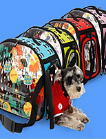 Cat Dog Carrier & Travel Backpack Pet Carrier Portable Breathable Flower Cute Blushing Pink Blue Green Ruby