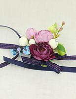 Свадебные цветы Букетик на запястье Свадебное белье Для специальных случаев Около 6 см