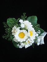 Ramos de Flores para Boda Ramillete de Muñeca Boda Ocasiones especiales Tela de Encaje Aprox.6cm