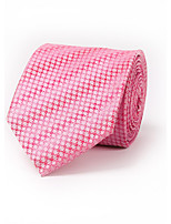 Для мужчин Шейные аксессуары Галстук,Все сезоны Полиэстер Комбинирование ткани (полиэфир/хлопчатник) Жаккард