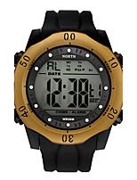 Hombre Niños Reloj Deportivo Reloj Militar Reloj de Moda Reloj Casual Japonés Cuarzo Calendario Resistente al Agua Luminoso Noctilucente