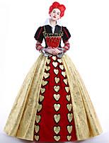 Disfraces de Cosplay Ropa de Fiesta Baile de Máscaras Princesas Reina Cosplay de películas  Vestido Enagua Pelucas Halloween Navidad