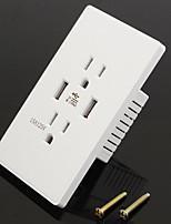 Электрические розетки PP С выходом USB-зарядного устройства 12*7*5.5