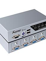 VGA USB 2.0 PS2 Interrupteur, VGA USB 2.0 PS2 to VGA USB Type B Interrupteur Femelle - Femelle 1080P