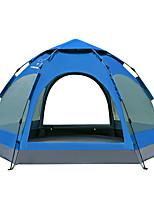 LINGNIU® 5 a 8 Personas Tienda Doble Carpa para camping Tienda de Campaña Automática Impermeable Mantiene abrigado Resistente al Viento