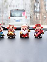 Diy автомобильные украшения мультфильм аниме маленький монах куклы автомобиль кулон&Декоративная смола