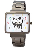 Муж. Модные часы Наручные часы Китайский Кварцевый Металл Группа Cool Повседневная Черный Белый Золотистый