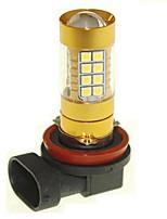 Sencart 1pcs H8 PGJ19-1 Flashing Bulb Led Car Turn Signal Light Backup Light Bulb Lamps(White/Red/Blue/Warm White) (DC/AC12-16V)