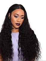 Pre Plucked 360 Lace Frontal Wig Brazilian Virgin Human Hair Curly Wigs with Baby Hair for Black Women 180% Density 360 Lace Wig