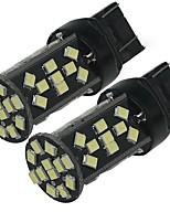 2PCS High Power White 5W T20 7443  W21W  48SMD 2835 Chips 500LM LED Light Bulb Backup Reverse Lamp  DC12V