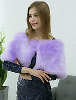 Women's Wrap Capelets Faux Fur Wedding