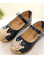 Girls' Flats Comfort Spring Leatherette Casual Blushing Pink Navy Blue Flat