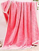 Фланель Сплошной цвет Хлопчатобумажная ткань одеяла