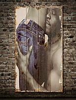 Декор стены Дерево Ар деко / Ретро Винтаж Творчество Ар деко/ретро Предметы искусства,1