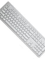 Tastiera a cristallo a due colori trasparente a cristallo 104 chiavi per tastiera meccanica