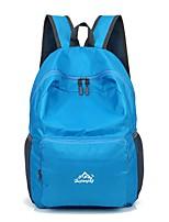 Unisex Sports & Leisure Bag Nylon All Seasons Sports Outdoor Climbing Weekend Bag Zipper Red Amethyst Orange Black Green 30-40