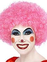 Парики из искусственных волос Без шапочки-основы Средний Кудрявые Красный Парик в афро-американском стиле Для темнокожих женщин Парики
