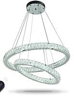 Lustres à cristaux liquides encastrés suspendus Éclairage gradable avec télécommande