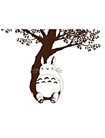 Totoro Wall Stickers Animals Cat Large Tree Vinyl Totoro Wall Decals Home Decor For Kids Baby Room Decoration Sticker Living Room