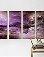 Quatre Panneaux Format Horizontal Imprimé Décoration murale For Décoration d'intérieur