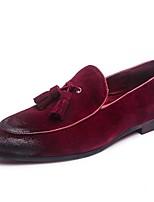Для мужчин Мокасины и Свитер Оригинальная обувь Формальная обувь Натуральная кожа Кожа Весна Лето Осень ЗимаПовседневные Для вечеринки /