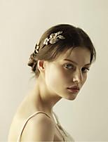 אבן נוצצת סגסוגת כיסוי ראש-חתונה אירוע מיוחד יום הולדת מסיבה\אירוע ערב מסרקי שיער Stick השיער כלי לשיער 2 חלקים