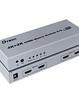 DTech HDMI 2.0 Splitter HDMI 2.0 to HDMI 2.0 Splitter Female - Female 4K*2K