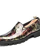 Для мужчин Мокасины и Свитер Удобная обувь Формальная обувь Весна Осень Искусственное волокно Свадьба Повседневные Для вечеринки / ужина