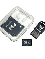 32gb tarjeta de memoria microdhc tf con lector de tarjetas usb y sdhc sd adaptador