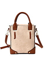 Women Bags Spring/Fall Summer PU Shoulder Bag with for Casual Green Black Blushing Pink Beige