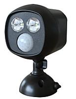 DOODDA HW101S-2 2LED Lamp Outdoor Infrared Courtyard Body Sensor Light Led Solar Night Light Waterproof
